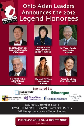 Legend Honorees - Columbus Council on World Affairs