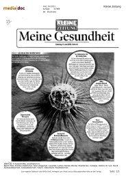 Kleine Zeitung, 8.6.2013 - ABCSG