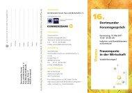 Th e ma - Dortmunder Forum Frau und Wirtschaft eV