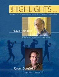 HiGHLiGHTS - Gehrmans Musikförlag