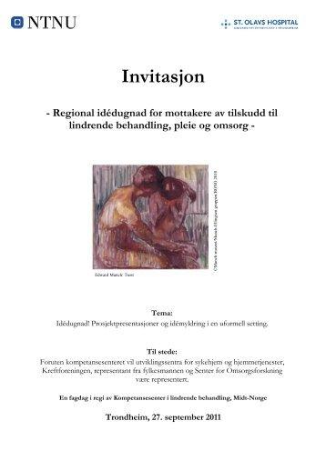Invitasjon - Og Bedre Skal Vi Bli