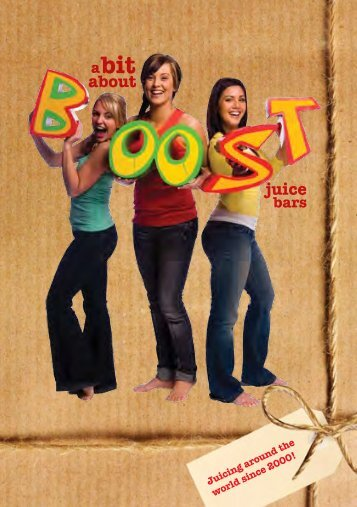 About juice Bars - Boost