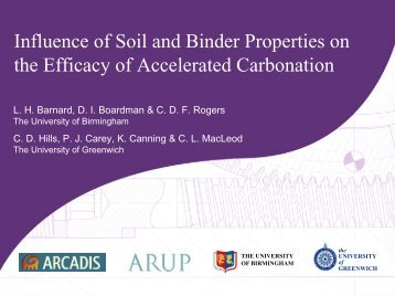 Influence of Soil and Binder Properties on the Efficacy of ... - Starnet