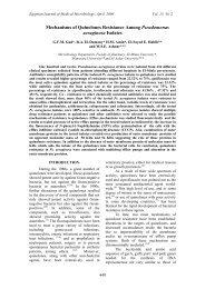 Mechanisms of Quinolones Resistance Among Pseudomonas ...