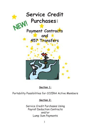 Service Credit Purchases: - Contra Costa County Employees ...