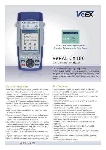 VePAL CX180 - Indes.com