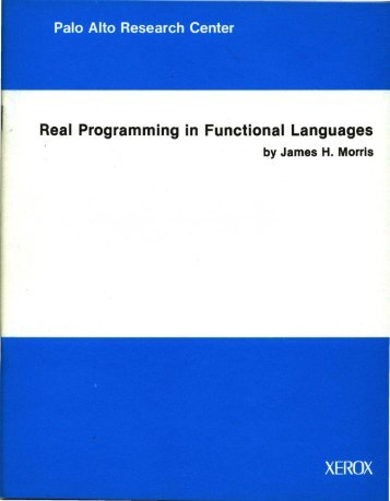 Real Programming in Functional Languages - Index of