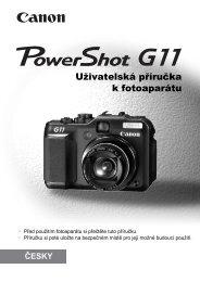 Uživatelská příručka k fotoaparátu