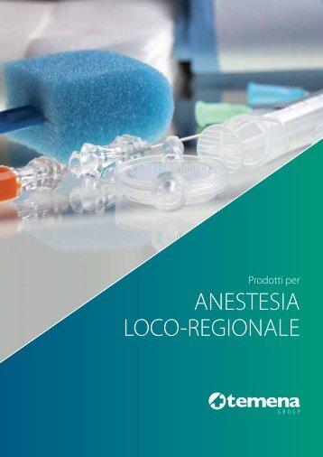 ANESTESIA LOCO-REGIONALE - Temena