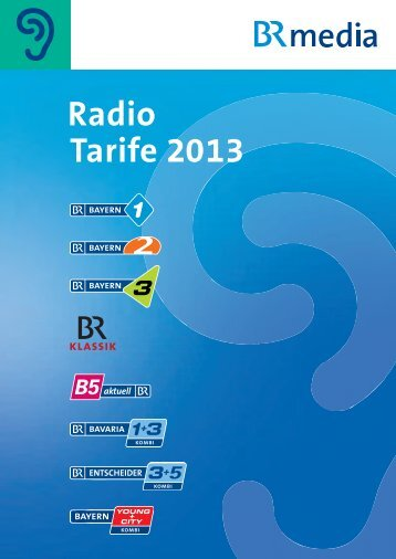 Preise 2013 - BRmedia GmbH