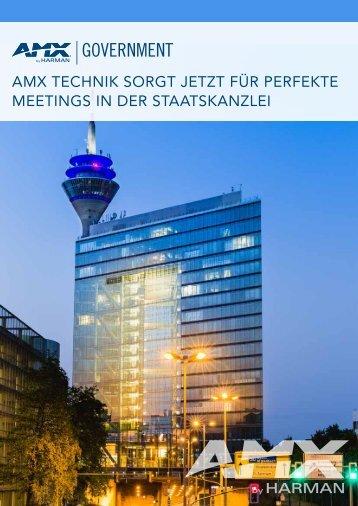 AMX TECHNIK SORGT JETZT FÜR PERFEKTE MEETINGS IN DER STAATSKANZLEI