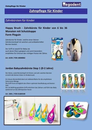 Zahnpflege für Kinder