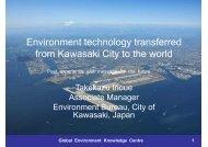 Kawasaki City - Penang Institute