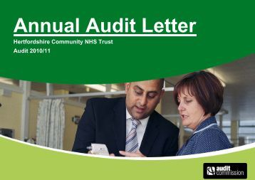 Annual Audit Letter 2010-11 - Hertfordshire Community NHS Trust