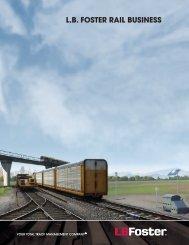 Rail Brochure - LB Foster Rail Products
