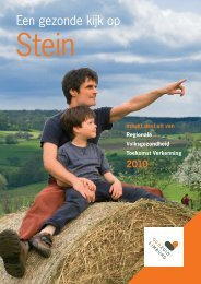 Een gezonde kijk op - Gemeente Stein
