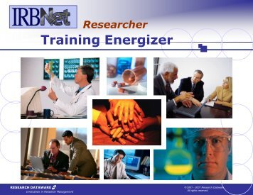Training Energizer - Mission Health