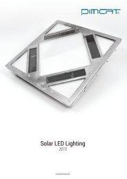 PIMCAT® - Solar LED Lighting