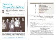 Deutsche Stenografen-Zeitung (bundesweit), Ausgabe März