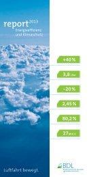 BDL Report Energieeffizienz und Klimaschutz 2013