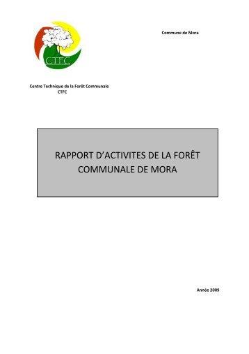 Mora - Centre Technique de la Forêt Communale