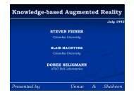 Knowledge-based Augmented Reality