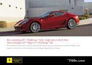 "Kit containing 20"", ""Challenge"" style, single piece wheel rims Satz ..."
