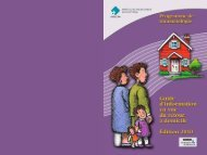 Guide d'information en vue du retour à domicile - Hôpital du Sacré ...