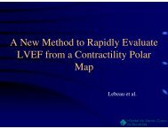 A New Method to Rapidly Evaluate LVEF from a Contractility Polar ...