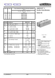 SEMIPACK® 2 Rectifier Diode Modules SKND 165