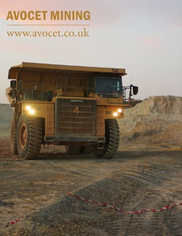AVOCET MINING - The International Resource Journal