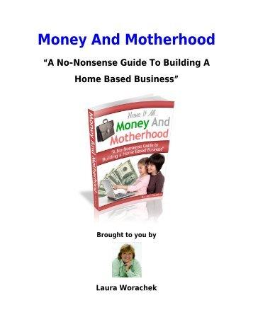 Download Money And Motherhood - Mompreneur Asia