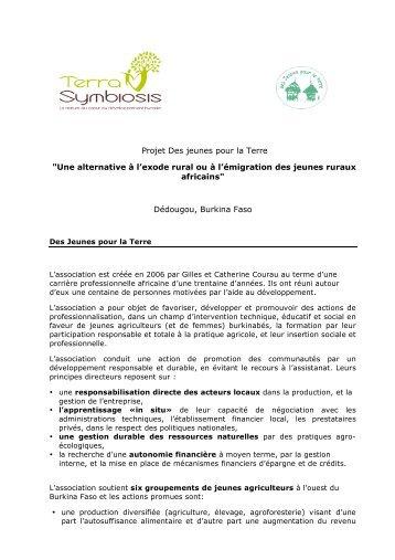 Jeunes pour la Terre 2011 - Terra Symbiosis