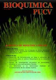 REVISTA DE BIOQUÍMICA ONLINE - Bioquimica.ucv.cl - Pontificia ...