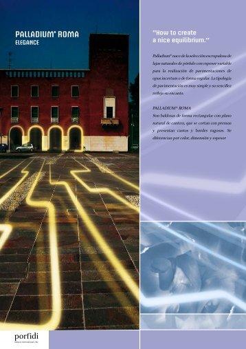 PALLADIUM ROMA - Porfidi International