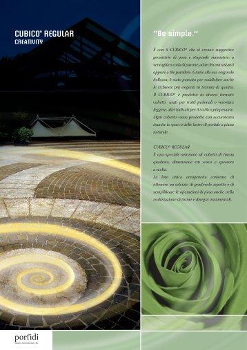 CUBICO REGULAR - Porfidi International