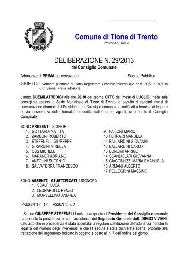 Comune di Tione di Trento