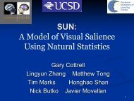 A Model of Visual Salience Using Natural Statistics - Temporal ...