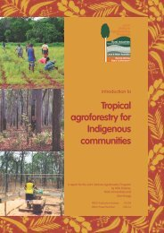 Introduction to tropical agroforestry for Indigenous communities