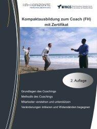Kompaktausbildung zum Coach (FH) - Mediation Ihde