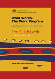 The Guidebook - What Works