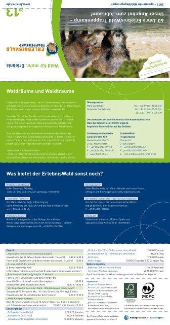 SHLF Veranstaltungskalender 2013.pdf - Komm in´ Knick