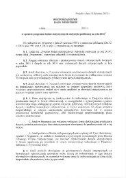 Projekt z dnia 18 kwietnia 2013 r. ROZPORZĄDZENIE RADY ...