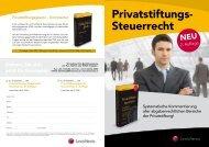 Privatstiftungs- Steuerrecht - privatstiftung.info