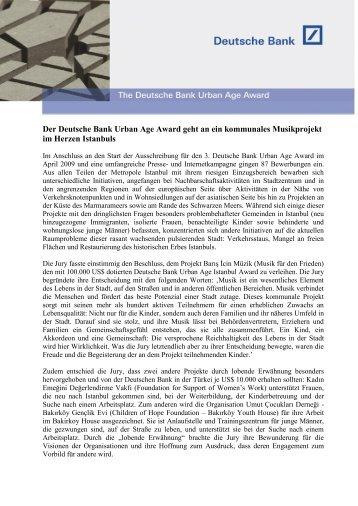 PDF / 263 KB - Alfred Herrhausen Gesellschaft