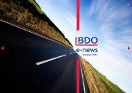 BDO e-news - October 2013