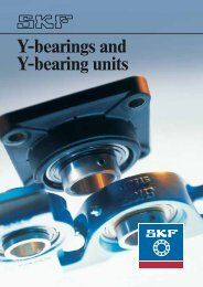 Y-bearings and Y-bearing units