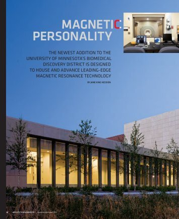 magnetic personality - Center for Magnetic Resonance Research ...