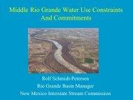 Rolf Schmidt-Petersen, Rio Grande Bureau Chief, NM Interstate ...