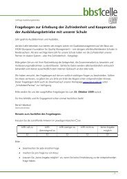 Fragebogen Betriebe - bbs1celle